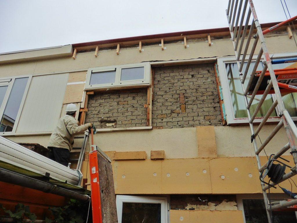 Buitenmuren isoleren met houtwolplaten