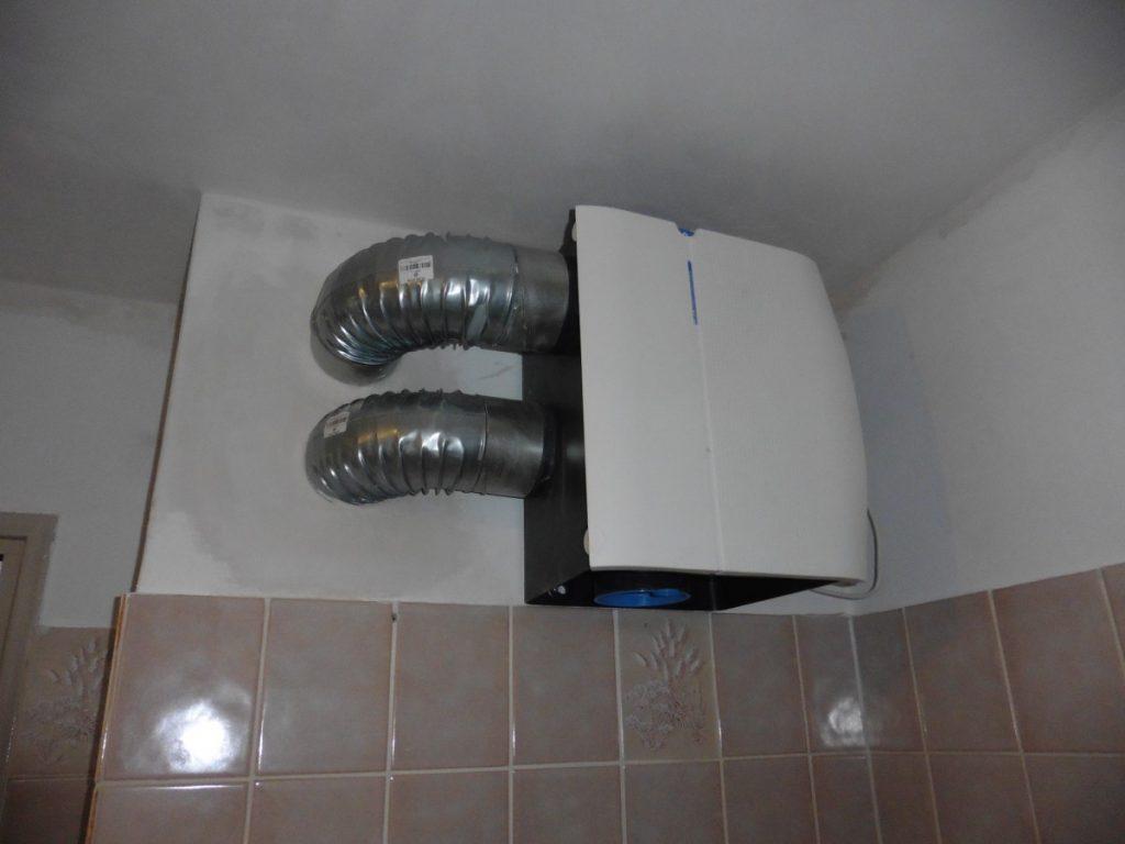 Mechanische ventilatiekast in de badkamer - Een energiezuinige ...