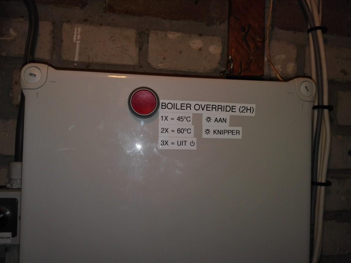 Kleine Boiler Keuken : Warm water u003eboiler een energiezuinige tussenwoning uit 1958