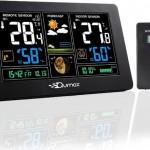 Temperatuur- en luchtvochtigheidsmeter